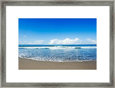 Seminyak Beach Framed Print by Yew Kwang