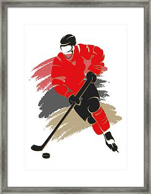 Senators Shadow Player2 Framed Print by Joe Hamilton