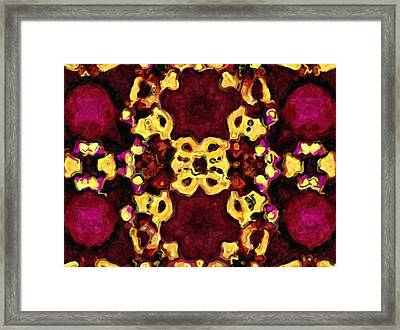 Send In The Clowns - Abstract Framed Print