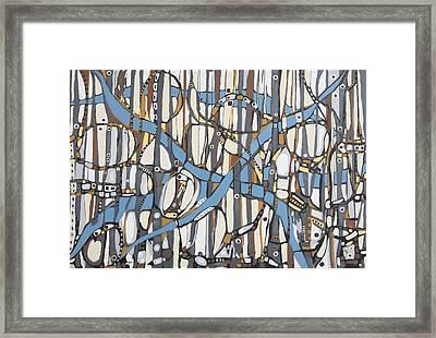 Senderos # 10 Framed Print