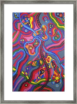 Senderos #14 Framed Print