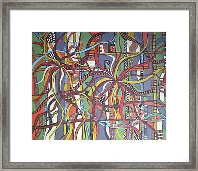Senderos #3 Framed Print