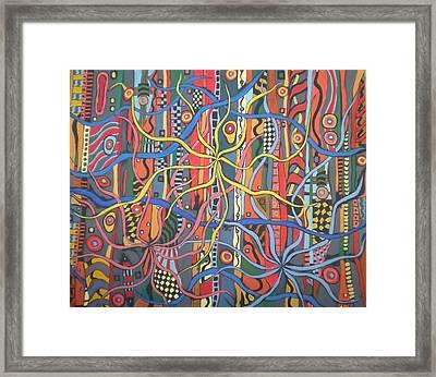 Senderos #6 Framed Print