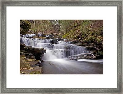 Seneca Falls In Spring Framed Print