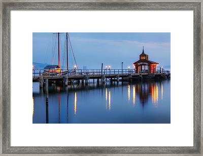 Seneca Lake Framed Print