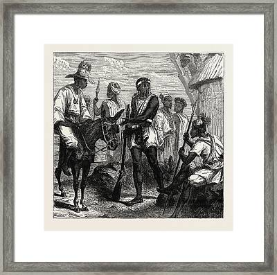 Senegambian People. As A Political Unit Framed Print by Litz Collection