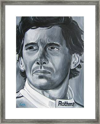 Senna Daze Framed Print by Joseph Love