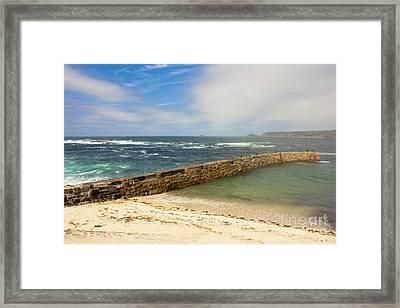 Sennen Cove Cornwall Framed Print by Terri Waters