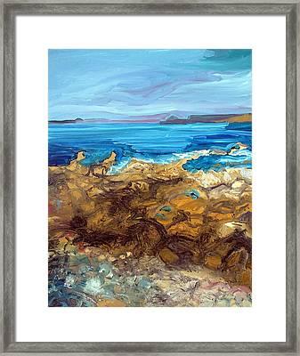 Sennen Cove Framed Print by Gordon Powles