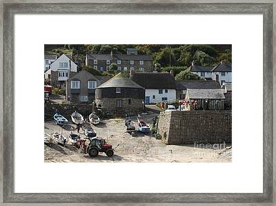 Sennen Cove Framed Print by Linsey Williams