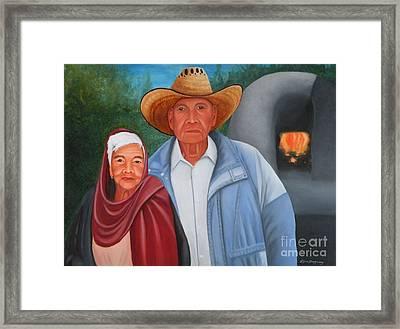 Senor Y Senora Sanchez Framed Print