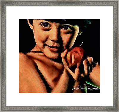 Sense Of Innocence  Framed Print