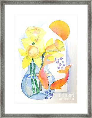 Sense Of Liberation Framed Print