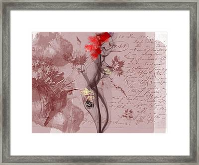 Senses Framed Print by Velitchka Sander