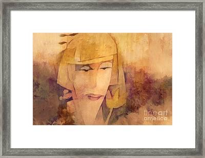 Sensibility Framed Print by Lutz Baar