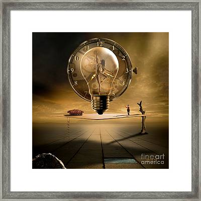 Sensitive Wisdom Framed Print