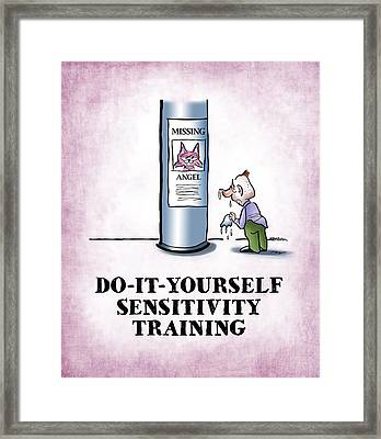Sensitivity Training Framed Print