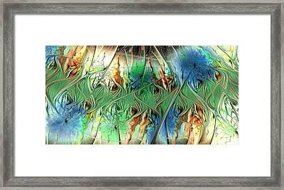 Sensory Threshold Framed Print
