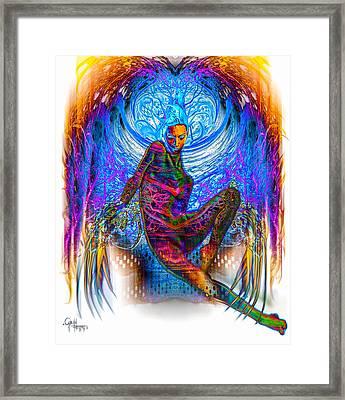 Sensual Claws 2 - The Dark Side Framed Print