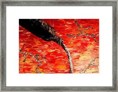 Sensual Fruit Framed Print by Mark Moore