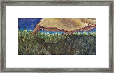 Sensual Spring Framed Print by Maria Valladarez