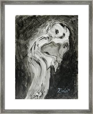 Sentimental Creeper Framed Print