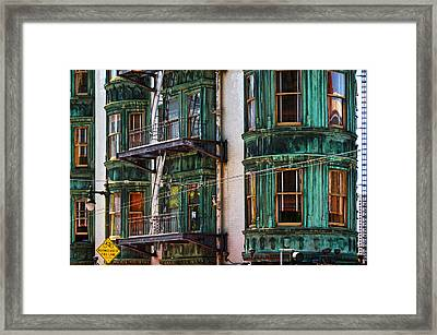 Sentinel Building Or Columbus Tower Framed Print by RicardMN Photography