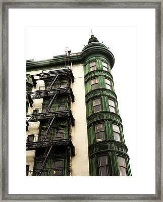 Sentinel Building San Francisco Framed Print by SFPhotoStore