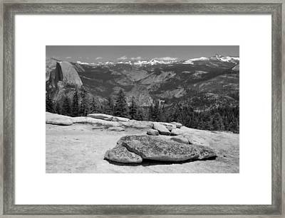 Sentinel Dome Framed Print by Stephen  Vecchiotti