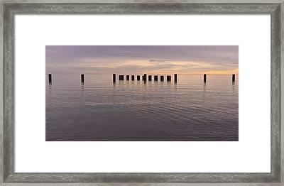 Sentinels Framed Print by Adam Romanowicz