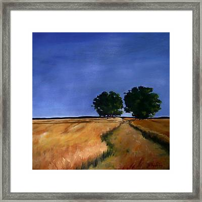 Sentinels Framed Print