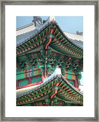 Seoul Palace Framed Print by Michael Garyet