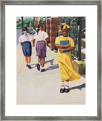 Separate Ways Framed Print
