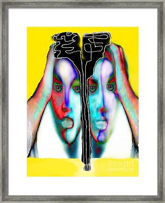 Separation Anxiety Framed Print by Rc Rcd