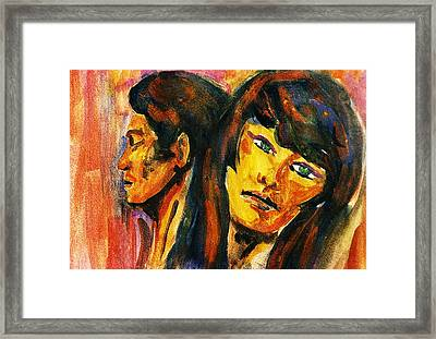Separation Framed Print by Hartmut Jager