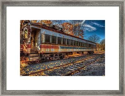 Septa 9125 Framed Print by William Jobes