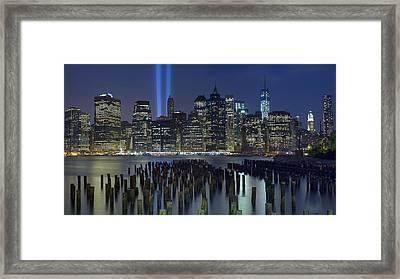 September 11 Framed Print