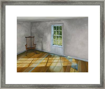 September Afternoon Olson House Framed Print by Jason Sawtelle