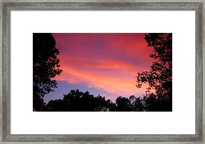 September Color Framed Print