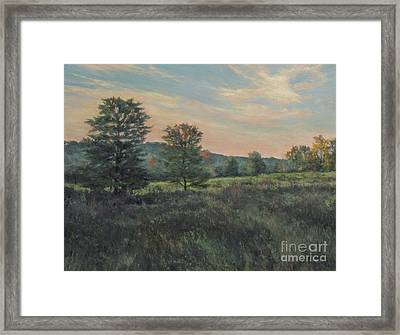 September Meadow Framed Print by Gregory Arnett