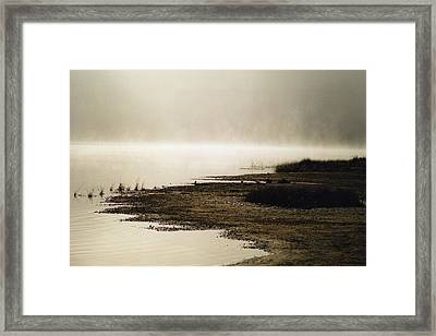 Framed Print featuring the photograph September Morning by David Porteus