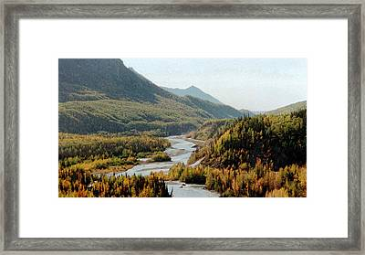 September Morning In Alaska Framed Print