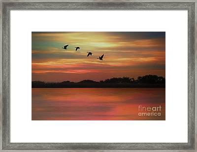 September Sky Framed Print by Tom York Images