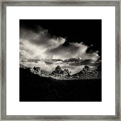 September Sundown II Framed Print