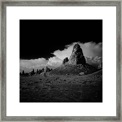September Sundown Vii Framed Print