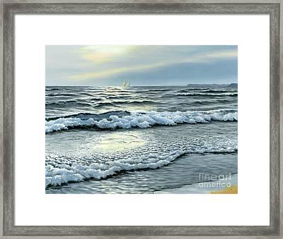 September Winds Framed Print by Michael Swanson