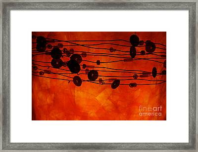 Sequence And Wire Framed Print