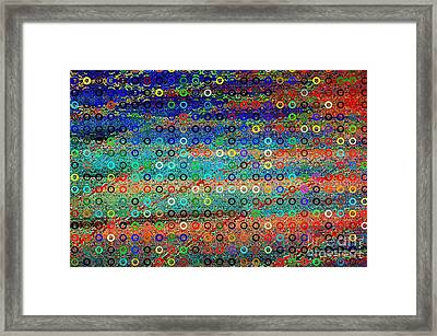 Sequins Framed Print