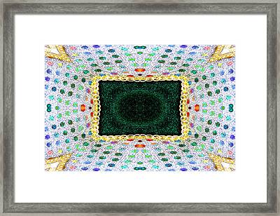 Sequins Framed Print by Marie Jamieson