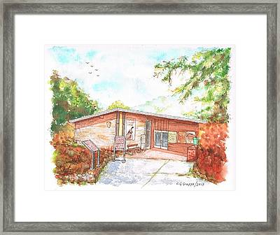 Sequoia National Park - Foothills Visitor Center - Califoernia Framed Print by Carlos G Groppa